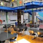 IEI General Contractors Brillion STEM Learning Lab Project – Interior