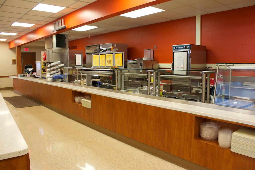 St. Mary's Hospital Medical Center Cafeteria