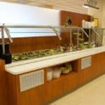 IEI General Contractors St. Mary's Hospital Medical Center Cafeteria Project – Cafeteria and Serving Areas