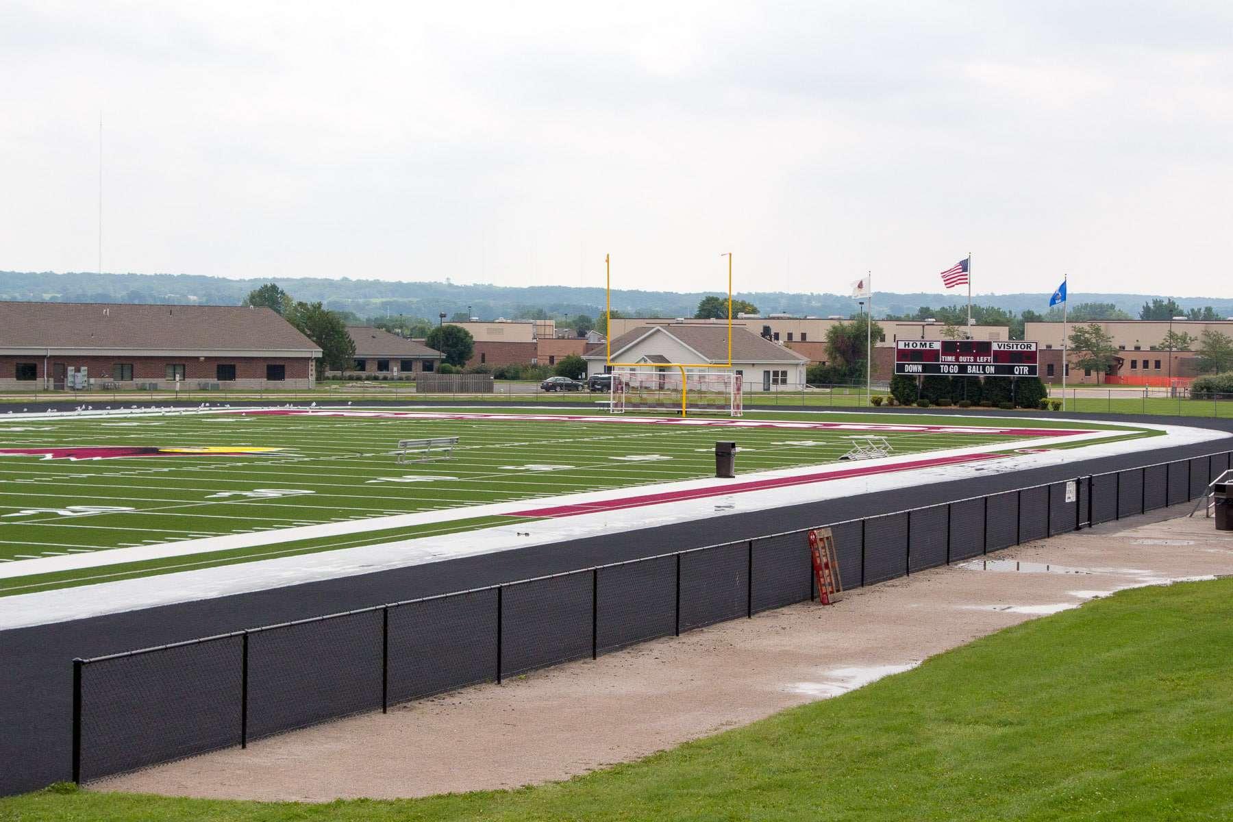 IEI athletic field renovations in Wisconsin