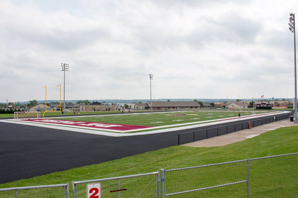 IEI General Contractors Preparing De Pere Athletic Complexes For Competition