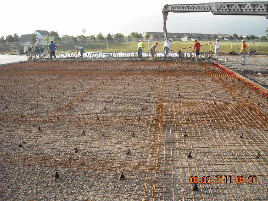 commercial concrete work IEI